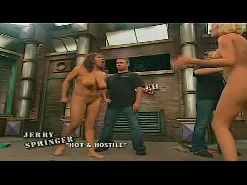 Women naked on jerry springer show — pic 3