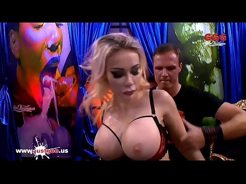 Super busty Pornstar Chessie Kay tries her first German gangbang