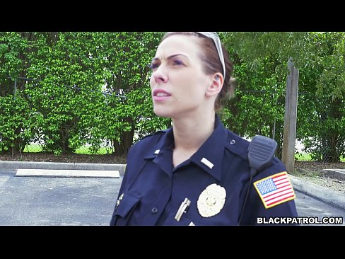 Fake female cops having lesbian sex