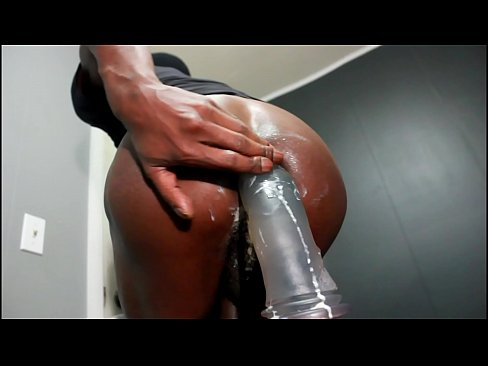 Ass in dildo large bat and what that sorry