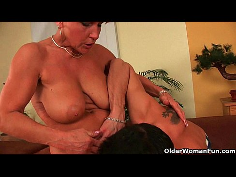 Lesbian Old Young Ass Licking