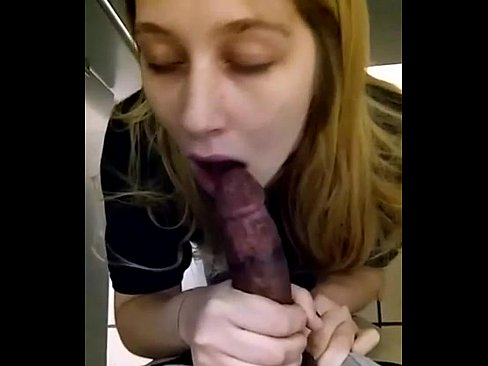 Sucking Black Dick Bathroom