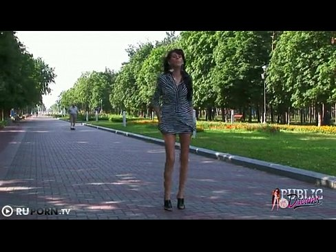 JOLENE: Women walks nude down street