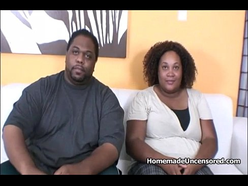 Black Couple Share White