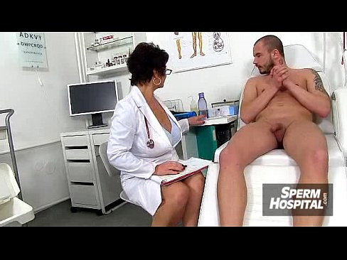 Sexy stockings legs doctor Milf Marta