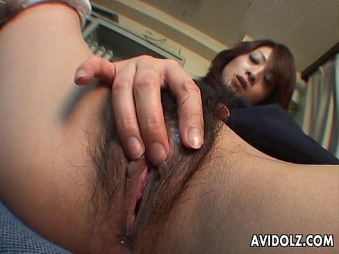 Asian and pussy rubbing