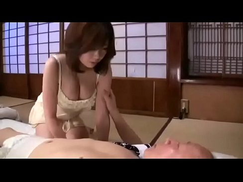 Sexy japanese girl sex with old man
