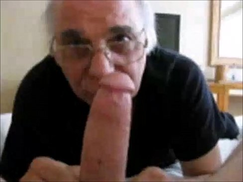 Hot suck mature cum daddy grandpa
