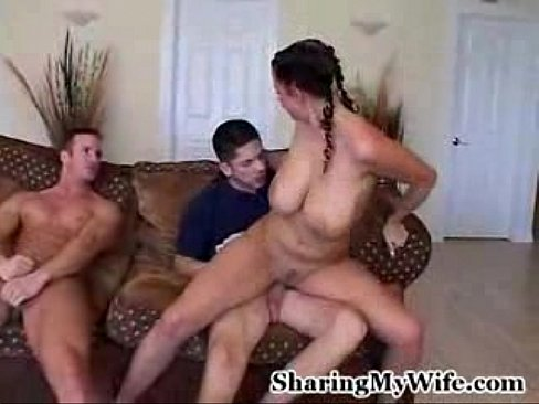 Pregnant wife fucked hard by guys