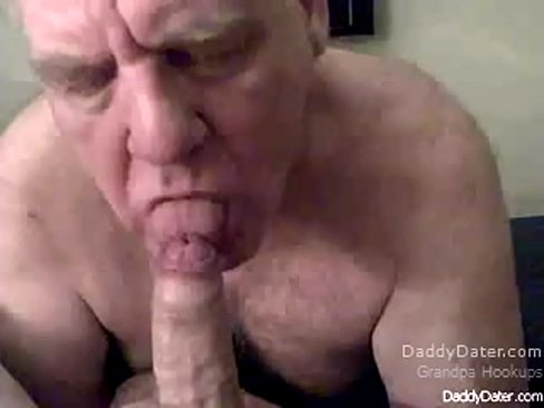 Sucking uncut cock