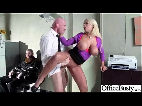 (bridgette b) Busty Horny Girl Get Hard Sex In Office movie-08