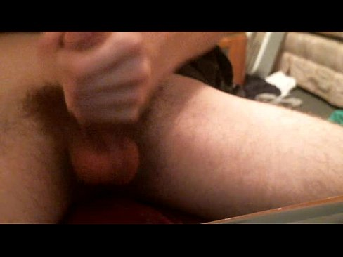Bare butt gay male