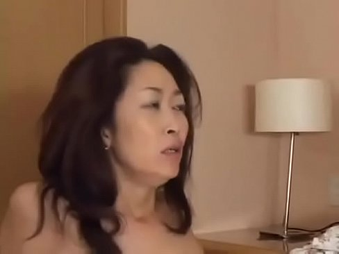 Asian Japanese mother gets a hot Fuck and a big load