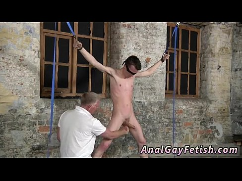 with his delicate testicles tugged