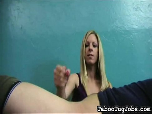 Handjob teen blonde porn think, that