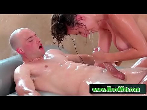 you busty milf shower with young man valuable piece
