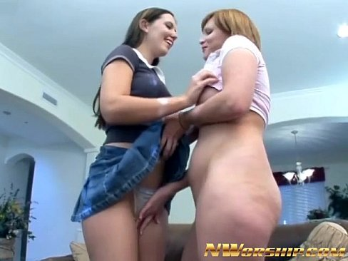 Teen girl and boy make love
