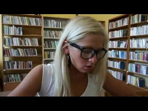 Amateur Librarian Porn - Pretty amateur Czech girl Candy Hot paid for sex in the library - XNXX.COM
