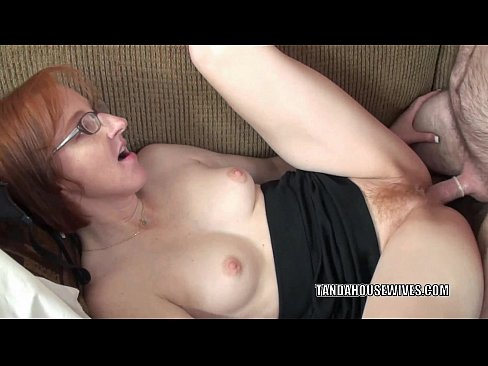 Redhead mature pounded