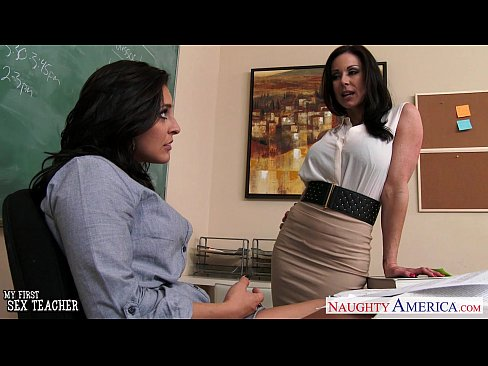 Busty teachers Gracie Glam, Kendra Lust sharing student
