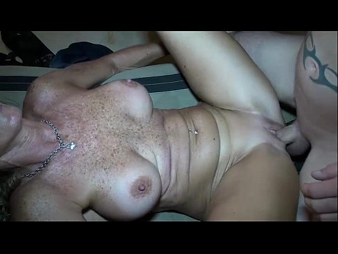 Blonde Milf Fucks Sons Best Friend