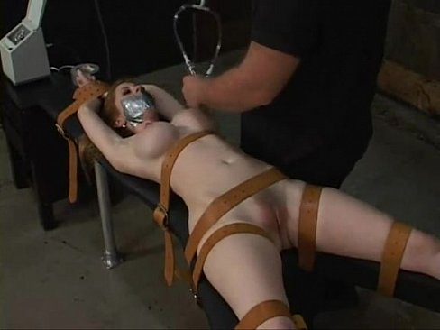 Tied up and forced to cum