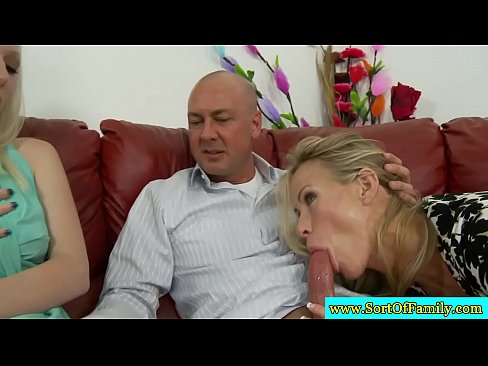 Mature couple seduction