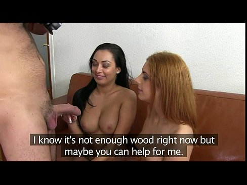 Two hot nasty busty big boobed lesbians