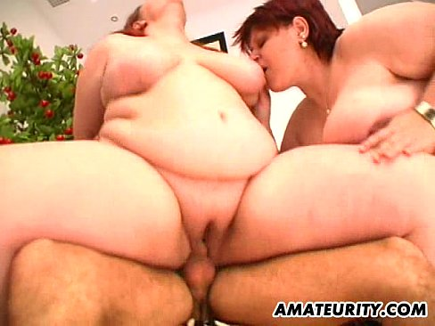 Milf fat threesome
