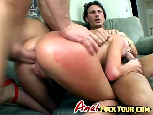 Two huge cocks up close anal