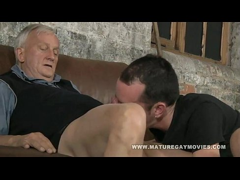 Gay mature and young