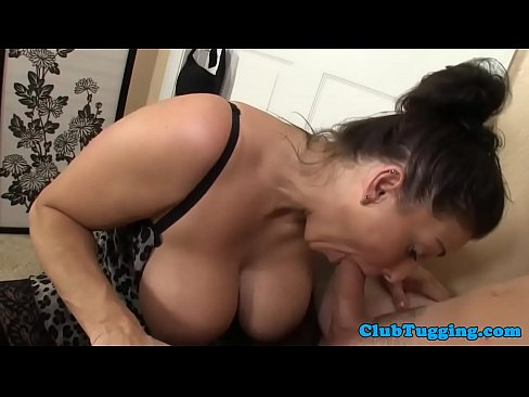 bigtit mature sucking cock eagerly - xnxx