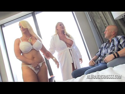 Two Big Tit Blondes Take Turns Pleasing One Lucky Guy Xnxx Com