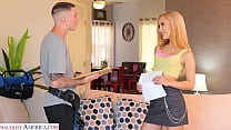 Naughty America - Hot blonde gets naughty with ...