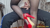 sexy teacher in stockings seduced a student in ...