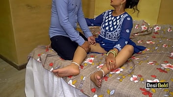 Desi Bhabhi Needs Fuck From Her Servant With Hindi Clear Voice