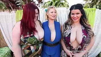 3 Heads Suck Cock Better Than 1! HUGE titty babes Angelina Castro, Samantha 38G & Trinity Guess tease that lucky dick in this TRIPLE blowjob clip! Full Video & Angelina Live @ AngelinaCastroLive.com!